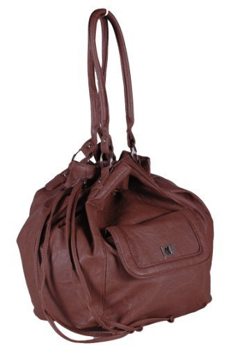 Eye Catch - Sac seau bucket en simili cuir - Femme