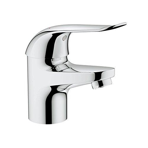 GROHE Euroeco Spezial Waschtisch Einhebelmischer, glatter Körper, 120 mm, verchromt 32762000