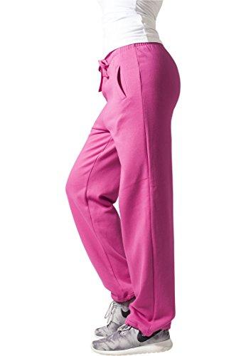 Urban Classics Loose-Fit Pantalon Sweat Turquoise Fushia - fuchsia