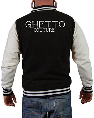 Ghetto Couture Jacke Schwarz/Weiß