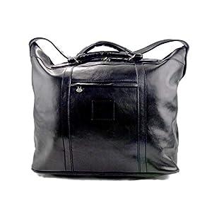 Herren ledertasche reisetasche umhangetasche mit griffe schultertasche sporttasche seesack leder damen reisetasche schwarz