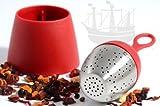 Tee-Ei FLOATEA, schwimmend, rot - Bremer Gewürzhandel
