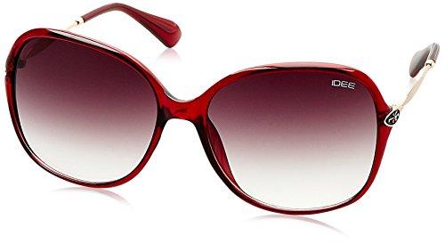 IDEE Gradient Square Women's Sunglasses - (IDS2085C4SG|58|Smoke Gradient lens) image