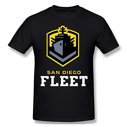 otball Fleet Herren Weich T Shirt Black S ()