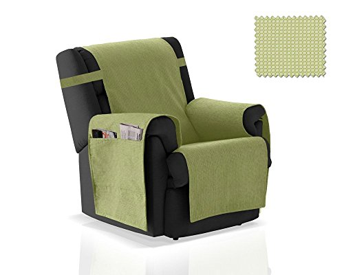 JM Textil Sesselschoner GEA Größe 1 Sitzer (55 cm), Farbe Grün