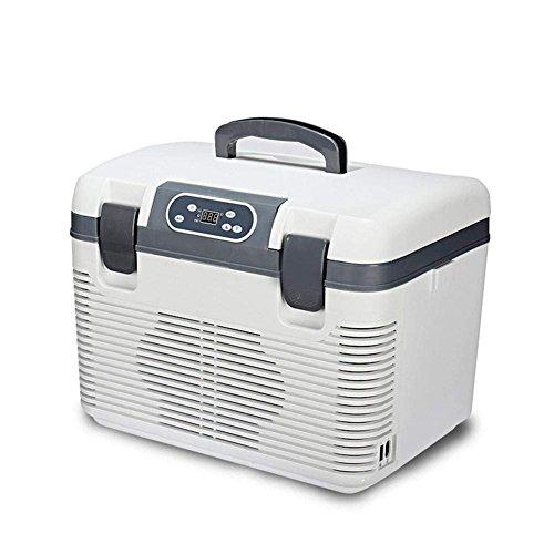 wenrit Mini refrigerador Refrigerador del Coche Doble refrigeración Refrigerador montado en el vehículo 19L