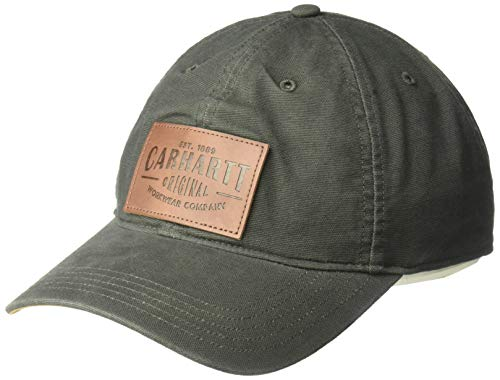 Carhartt M Rigby Stretch Fit Leatherette Patch Cap - Baseballkappe
