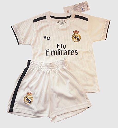 Kit Infantil Réplica Oficial Licenciado de la 1ª Equipación Temporada 2018- 19 Sin Dorsal. 59030df2fa2