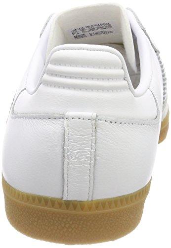 adidas Damen Samba Gymnastikschuhe Elfenbein (Ftwr White/ftwr White/gum4)