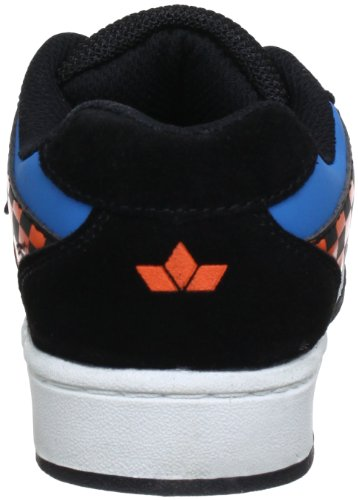 Lico Scooter Low 530226, Sneaker ragazzo Nero (Schwarz (schwarz/blau/orange))