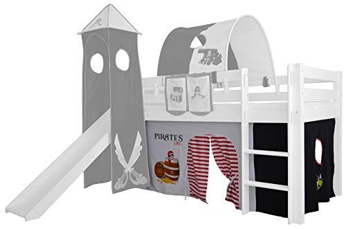 Etagenbett Pirat : Kinderbett etagenbett piratenbett massivholz buche hochbett pirat