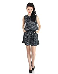 Pepe Jeans Womens A-line Dress (FLORENCE SL_Black_Large)