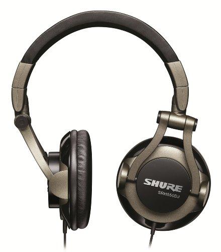 Shure SRH550DJ, geschlossener DJ-Kopfhörer / Over-ear, geräuschunterdrückend, faltbar, drehbare Ohrmuscheln, erweiterter Bass - 2