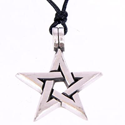 Pentacle Pewter Pendant - Star