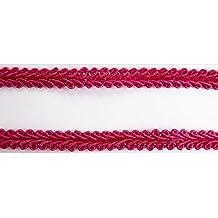 Borte-mit-Stil 2 m Posamentenborte Tracht 8mm breit Farbe rosa