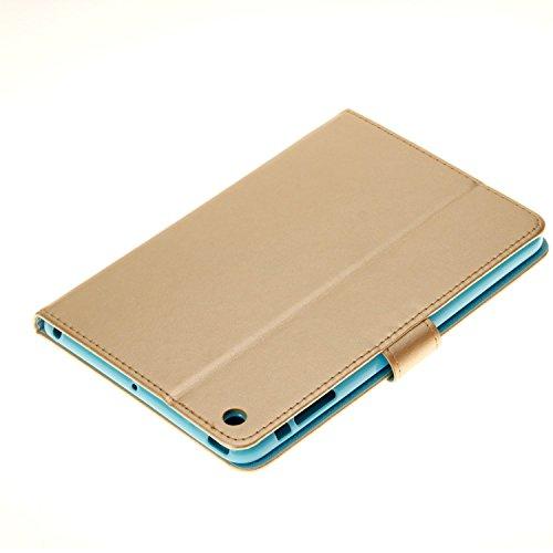 Coque iPad Mini 3, elecfan® Slim Fit Étui de protection pour iPad Mini 123Étui avec fonction support et insigne bautem aimant pour veille/veille pour Apple iPad Mini 3, Ipad Mini 2et iPad mini 7,9 A06