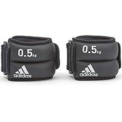 adidas Pesas de Tobillo/Muñeca - Negro, 0.5 kg