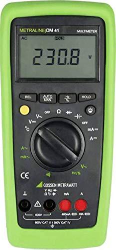 Gossen Metrawatt METRALINE DM 41 Hand-Multimeter digital CAT III 600 V, CAT IV 300 V Anzeige (Counts): 4000