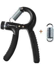 yookoon ajustable mano agarre ejercitador de mano fortalecedor cartucho (5 – 50 kg) –