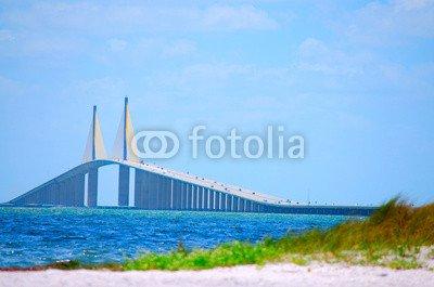 alu-dibond-bild-120-x-80-cm-sunshine-skyway-bridge-tampa-bay-bild-auf-alu-dibond