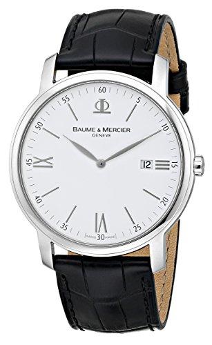 baume-et-mercier-classima-moa8485-gents-black-calfskin-date-watch