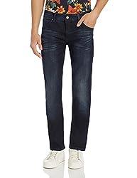 Calvin Klein Mens Skinny Fit Jeans (036182321008_J304329_34W x 34L_Olive Blue)