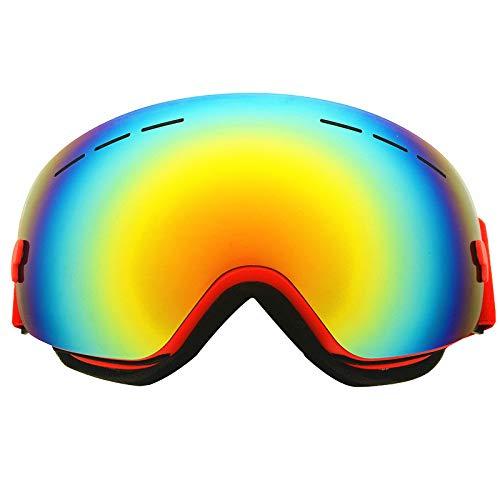 Yiph-Sunglass Sonnenbrillen Mode Skibrillen - Überbrillen Ski- / Snowboardbrillen Für Herren, Damen Jugend - 100% UV-Schutz (Farbe : Color Film)