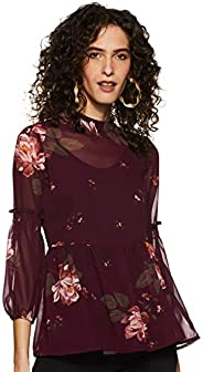 Styleville.in Women's Floral Regular Fit