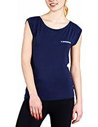 Emporio Armani - T-shirt - Femme bleu Navy blue