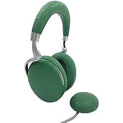 Parrot Zik 3 by Starck Casque audio Bluetooth, chargeur à induction inclus Vert Emeraude Croco