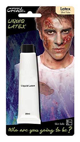 Erwachsene Damen Herren Flüssiger Latex Spezialeffekte Make-Up Falsche Haut Grauenhaft Halloween Kostüm Kleid Outfit ()