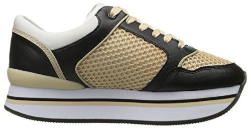 Sport scarpe per le donne, colore Nero , marca ARMANI JEANS, modello Sport Scarpe Per Le Donne ARMANI JEANS PEU CAMI KIDS Nero Beige