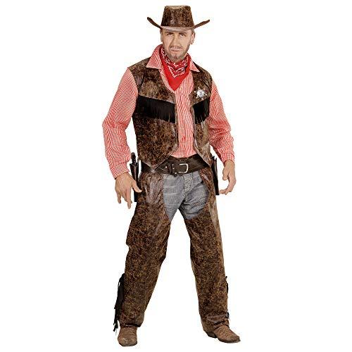 Indianer Und Cowboy Kostüm Motto - Widmann - Erwachsenenkostüm Cowboy