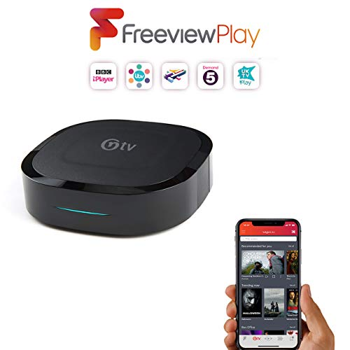 All-New NetBox 4K: All your TV in one place with Freeview Play and  Streaming Apps in Ultra HD, includes netgem tv with Mobile TV App