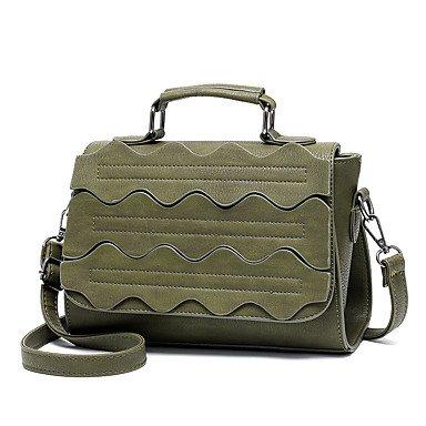 M. Plus Damenmode Spleißen Schulter Messenger Crossbody Taschen / Handtaschen Klt Fuchsia