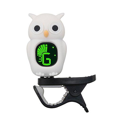 Cute Cartoon Owl Clip-On Tuner LCD Display