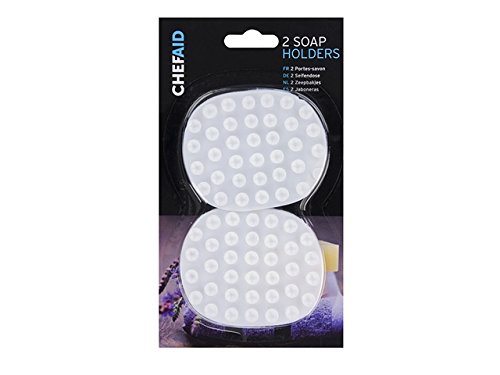 Chef Aid 2-Piece Soap Holder