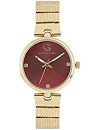 Giordano Analog Brown Dial Women's Watch - A2058-22