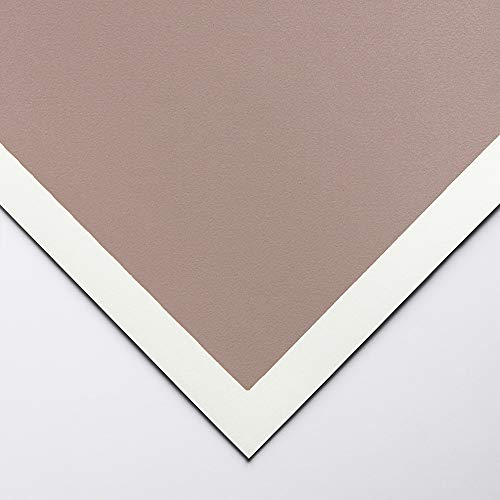 Kunst-Spektrum: Colourfix Pastell Papier stieg grau 50x70cm