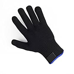 Generic Black : 1psc Heat Resistant Protection Glove Hair Styling Tool for Curler Straightener x