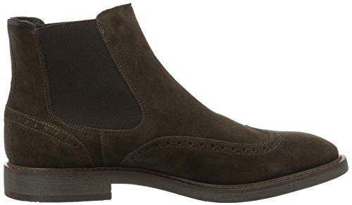 Marc O'Polo Flat Heel Chelsea, Bottes Classiques homme Marron - Braun (Brown 765)
