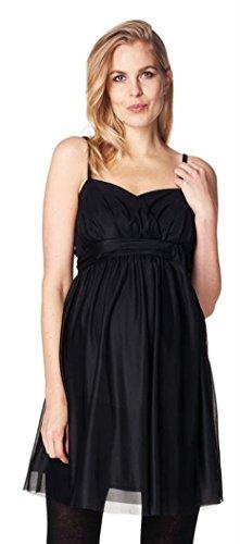 ESPRIT Maternity Damen Umstandskleid Dress WVN ss, Knielang, Einfarbig (40 (Herstellergröße: 40),...