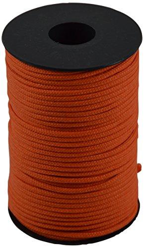 Corderie italiane 006036500 cordino colorato hobby, arancione, 2.5 mm, 50 m
