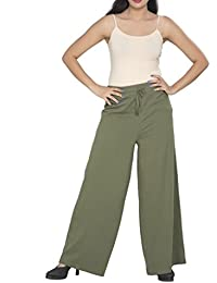 Clifton Women's Palazzo Pant - Olive