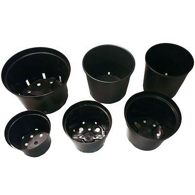 elixir-strong-black-plastic-plant-flower-pots-5-litre-x-30