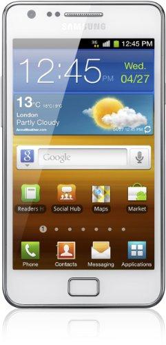 Samsung Galaxy S II (i9100) DualCore Smartphone (10,9 cm (4,3 Zoll) Display, Touchscreen, Android 2,3, 8 Megapixel Kamera, Full-HD Kamera, 2 Megapixel Frontkamera) [EU-Version] ceramic weiß - Touchscreen S2 Samsung Galaxy