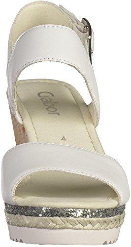 Sandale Blanc Femmes Xhwnrqtsen 65 790 Gabor wWaIIqvxPO