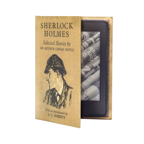 KleverCase Sherlock Holmes Book Cover for Amazon Kindle