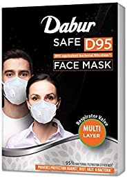 Dabur Safe D95 face mask | Provides protection against Dust, Haze and Bacteria