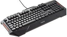 Asus Clavier Gaming Cerberus Port USB, 12 Touches de Macro, AZERTY, Noir